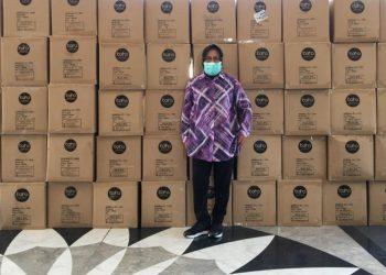 Bantuan OPD dari Kemenkes sudah sampai di Balai Kota Surabaya.