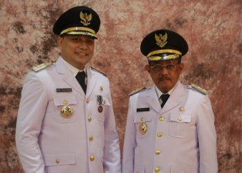 Wali Kota Surabaya Eri Cahyadi dan Wakil Wali Kota Surabaya Armuji