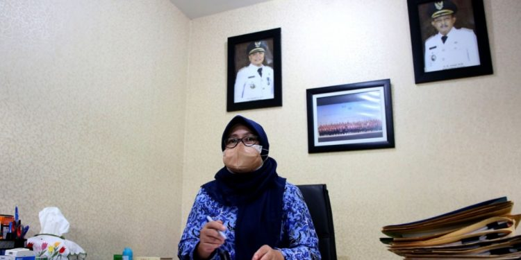 Kepala Bagian Administrasi Kesejahteraan Rakyat Kanti Budiarti.