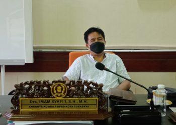 Anggota Komisi A DPRD Surabaya Imam Syafi'i.